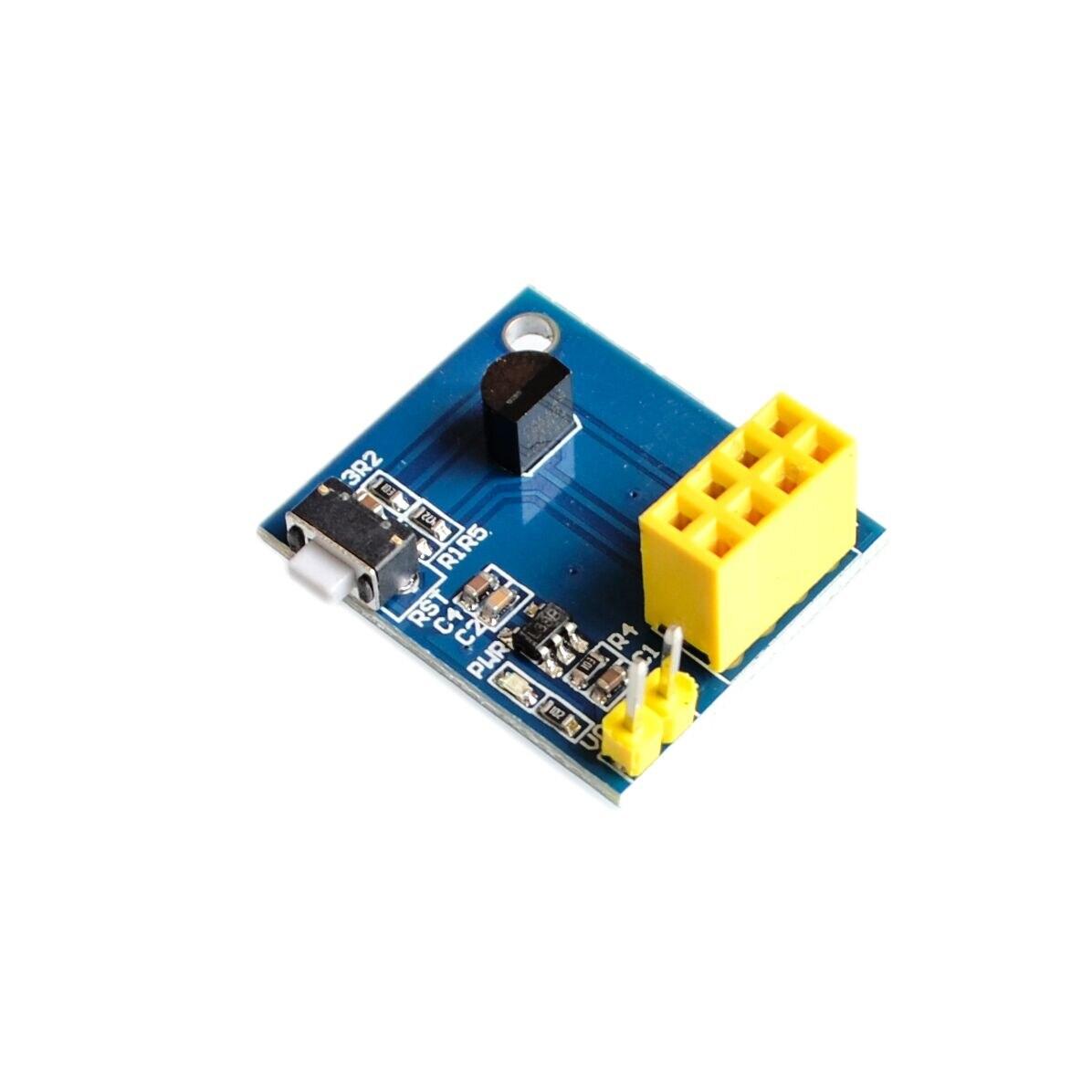ESP8266 ESP-01 ESP01 DS18B20 модуль датчика температуры и влажности Wifi NodeMCU для Arduino Smart Home IOT DIY Kit