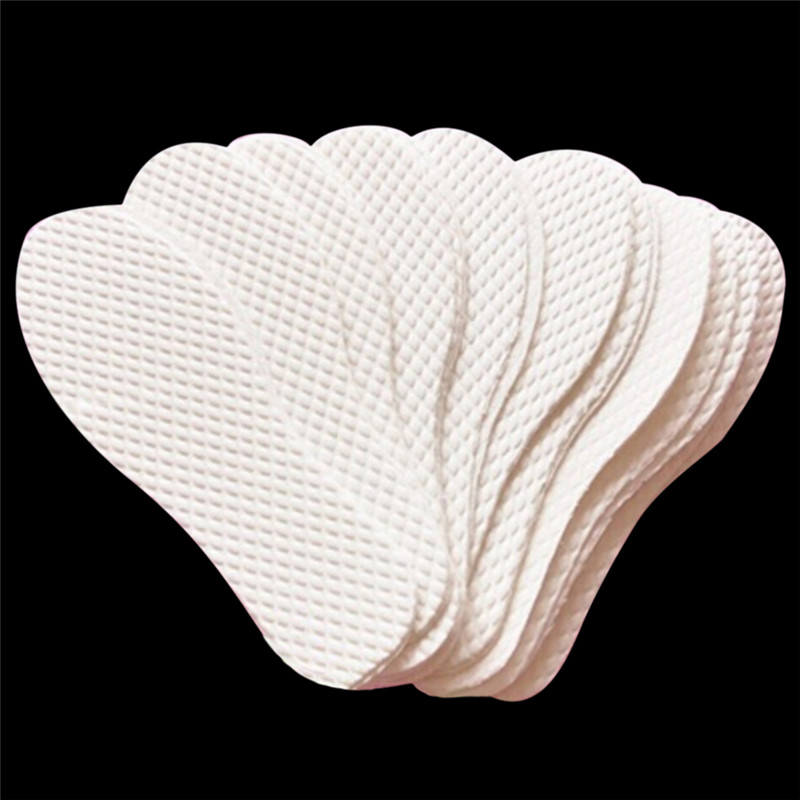 3 Pairs/ Lot Disposable Comfortable Wood Pulp Shoes Insoles Inserts Insoles For Footwear Men Women White Color