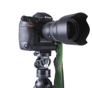 Image 3 - IShoot tout métal 2D 360 panoramique panoramique Panorama pince tête Ballhead pour Arca Fit caméra plaque de dégagement rapide trépied monopode