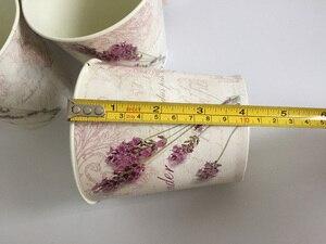 Image 5 - 6 Pz/lotto D10.5xH10CM Mini Vaso per la Decorazione di Cerimonia Nuziale Lavanda centro della tavola di Ferro vasi di fiori