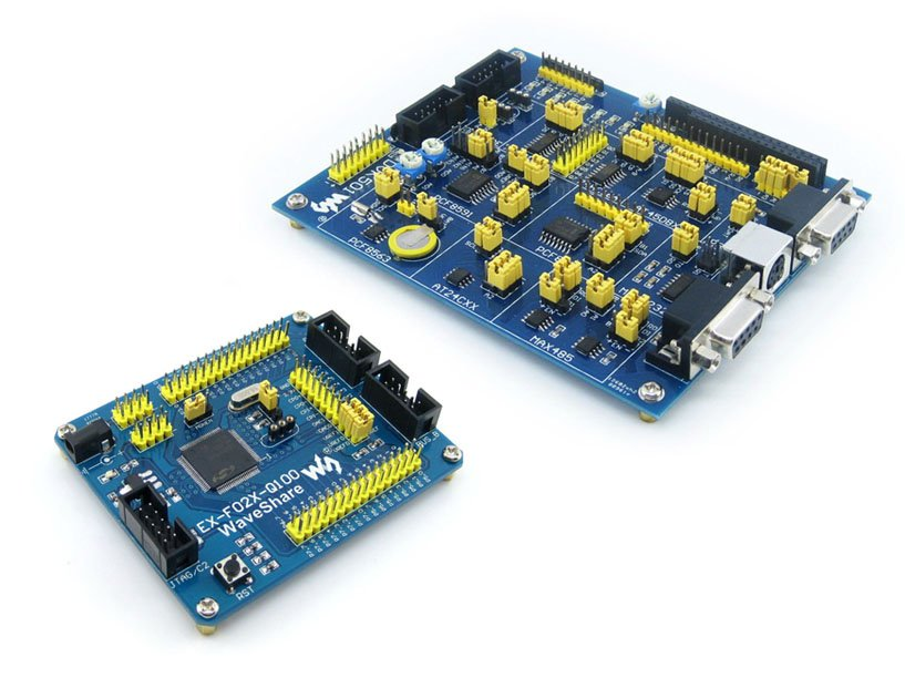 C8051F Series C8051F020 8051 Evaluation Development Board Kit + DVK501 System Tools =EX-F02x-Q100 Premium Free Shipping