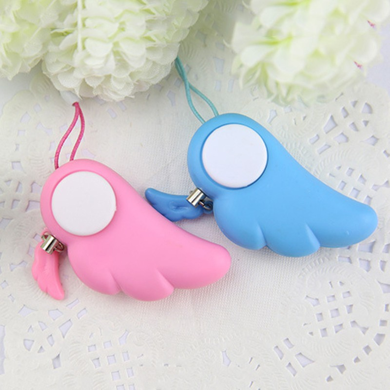 ENKLOV Personal Protection Girl Women Anti-Wolf Security Alarm Mini Loud Self Defense Supplies Emergency Alarm
