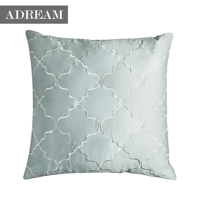 100 cotton euro shams pillow cover decorative pillowcase for Cheap european pillows