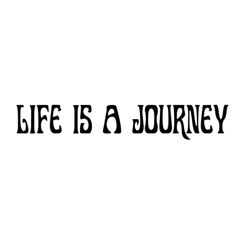 Life Is A Journey Quote Home Decor Car Truck Window Decal Sticker