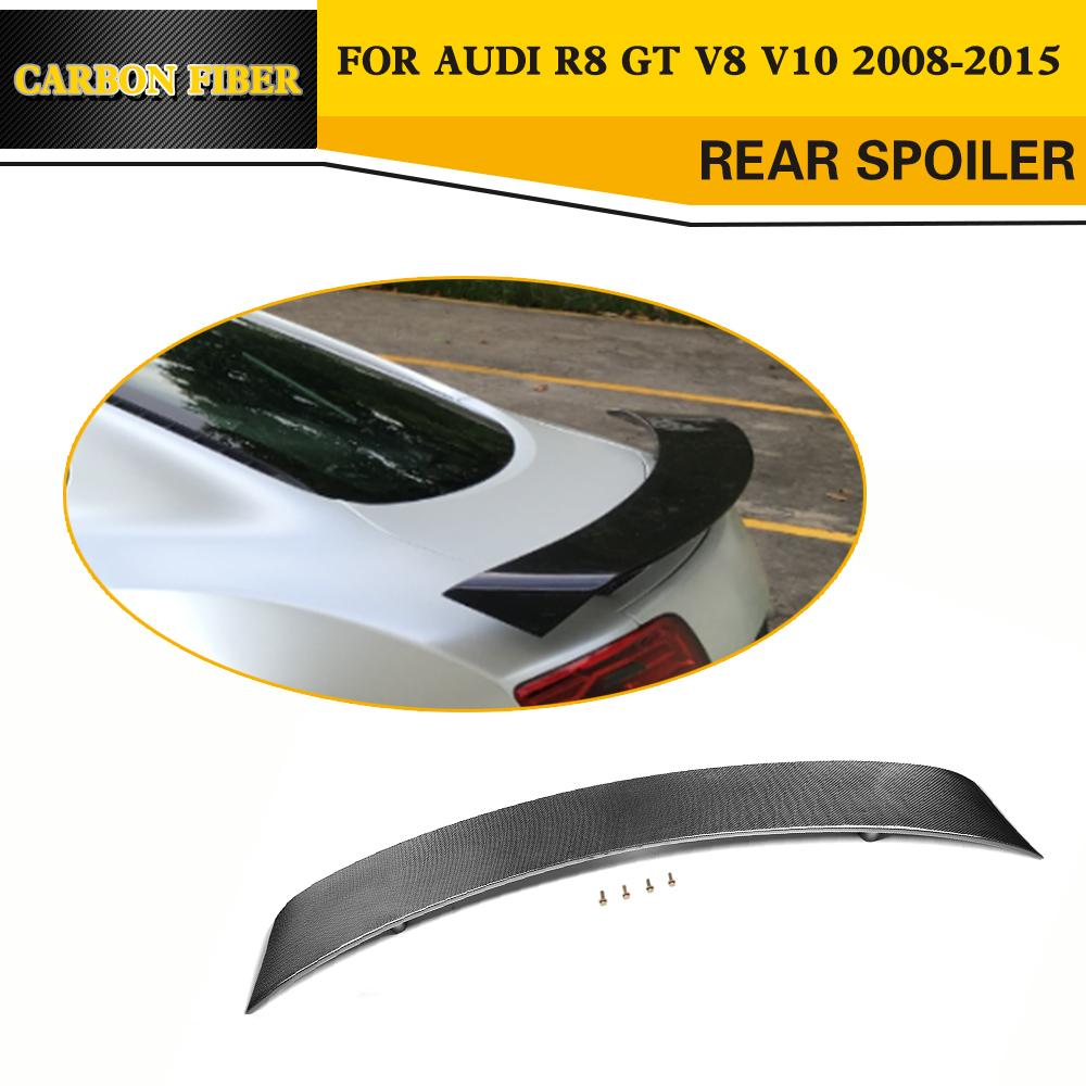 Carbon Fiber Auto Rear Racing Trunk Spoiler Rative Wing Car Styling - Auto Replacement Parts