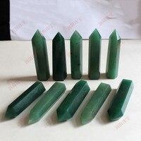 10PCS natural dongling, jade quartz crystal WAND POINT HEALING