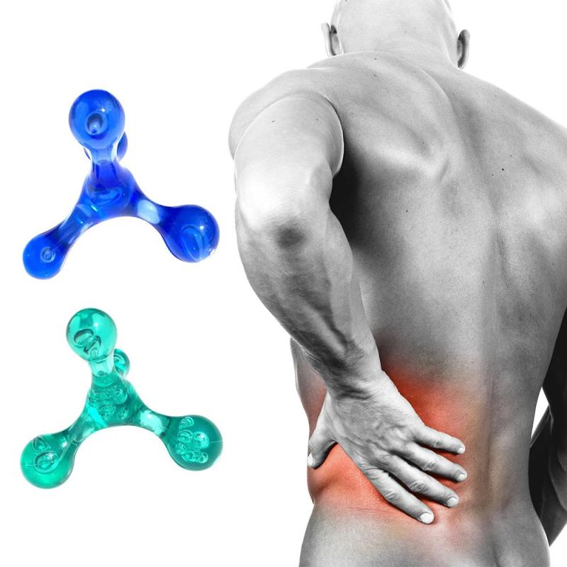 Mini Körper Massager Manuelle Balance Vier Kugeln Tragbare Reise Massager Trigger Punkt Arm Zurück Entspannung Beseitigen Ödem Gesundheit
