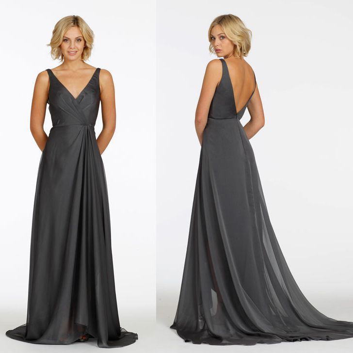 Grey Gowns Wedding: 2015 Designer Plus Size Mother Of The Bride Dresses Sexy V