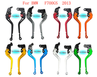 17.2CM Motorcycle CNC Brake Clutch Levers with Adjuster 8 colors to choose from For BMW F700GS 2013 (B-1/B-8)
