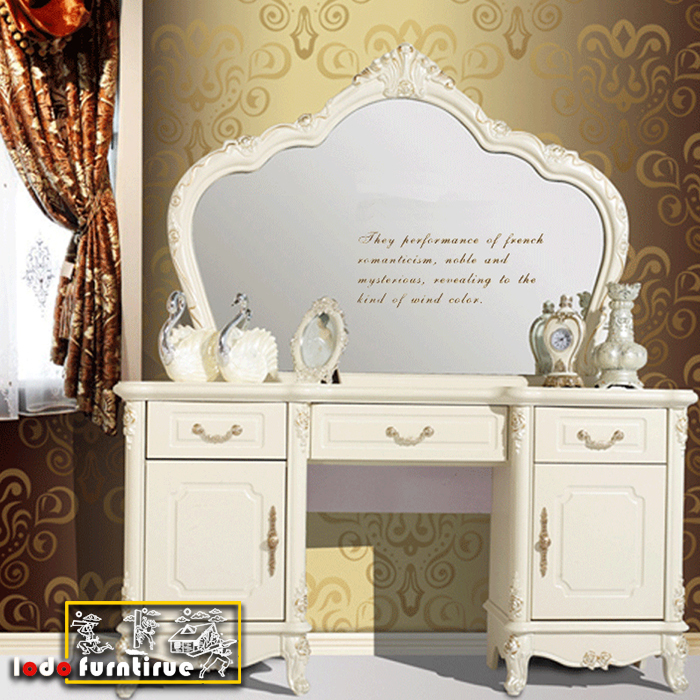 Luxury Crown Prince Bed Frame Neoclassical French Bedroom Sets ...