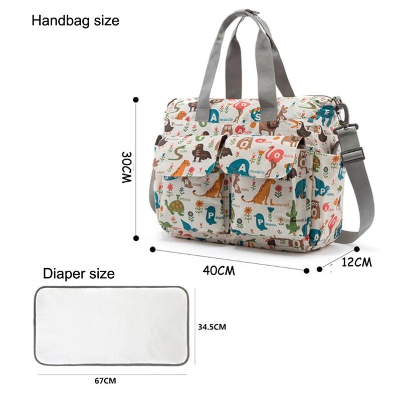 HTB12hAFLMHqK1RjSZFPq6AwapXaq Mummy Maternity Nappy Bag Stroller bolsa Large Capacity Baby Travel Backpack Mommy Nursing Bag Baby Care Changing Diaper Bag