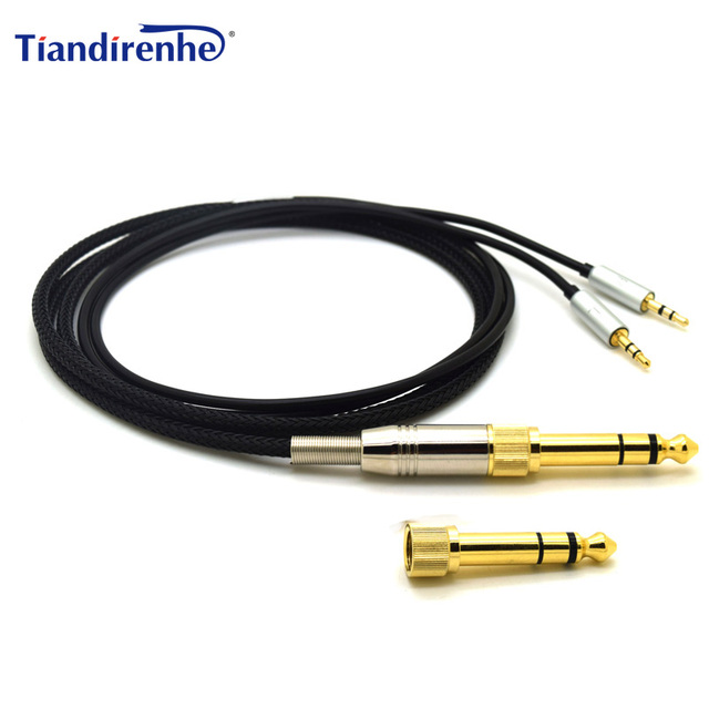 Replacement Headphone Cable For Sol Republic Master Tracks HD V8 V10 V12 X3  Earphone 6.35mm