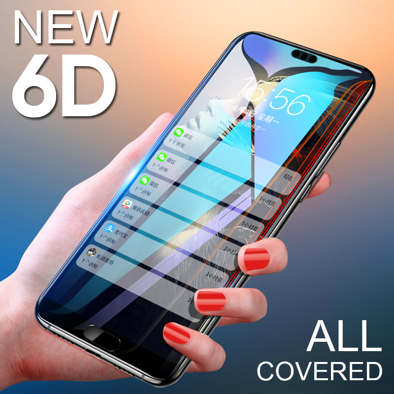 6D Full Tempered Glass For Huawei Mate 8 9 10 Lite Pro Glass Film For Huawei P10 P20 Lite P20 Pro P10 Plus Screen Protector