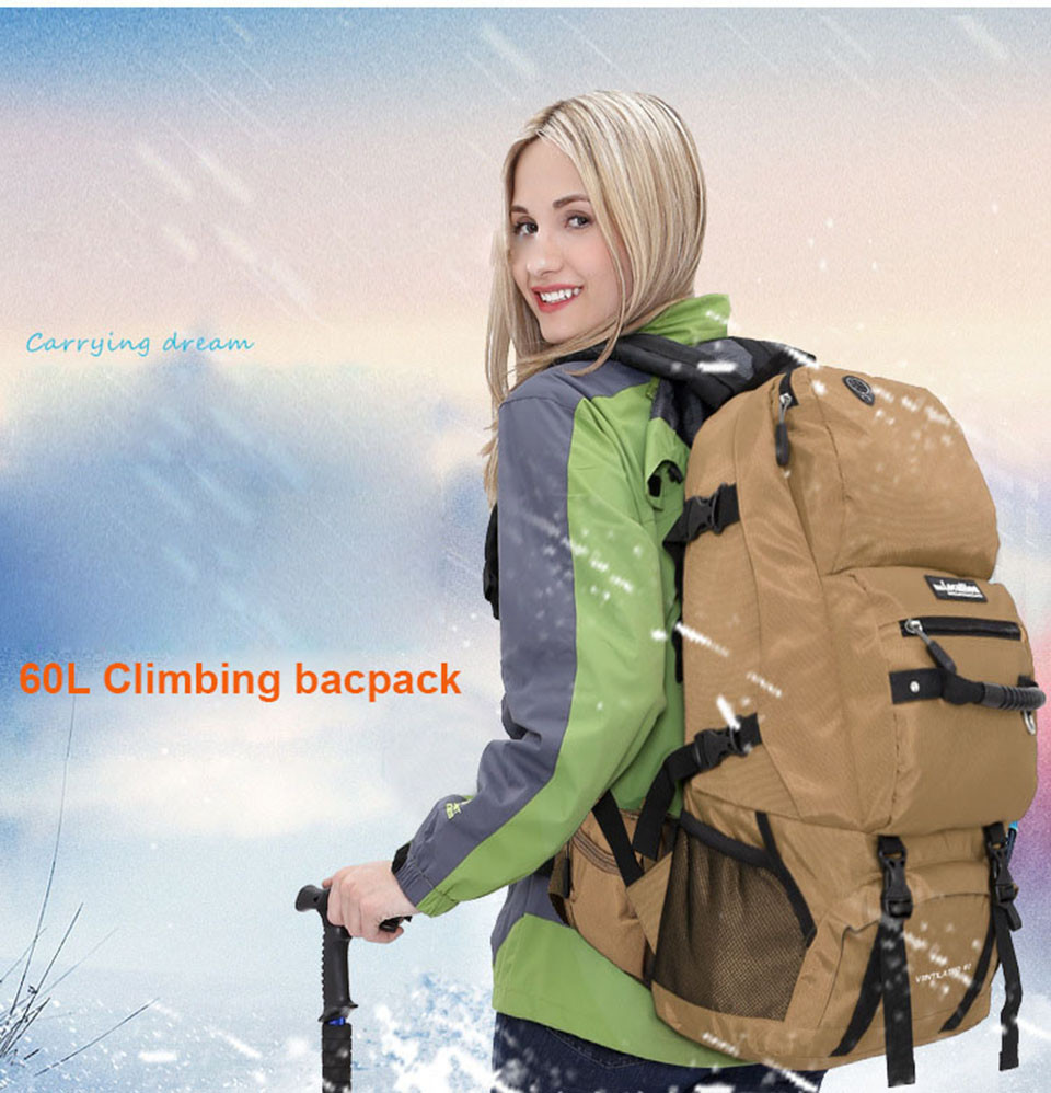 LOCAL LION 60L Tactical Backpack Molle Military Bag