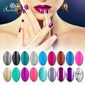 Saviland 58 Colors UV Gel Nail Polish Long-lasting Soak-off LED UV Gel  vinish lacquer gel Nails Gel  Nail Art Tools