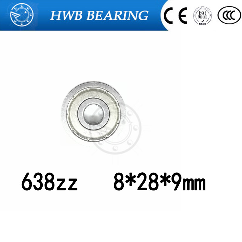 Free shipping 10pcs/lot Factory direct sale 638 638ZZ 638Z 638-2Z 80038 8*28*9 mm High quality deep groove ball bearing 8x28x9mm free shipping high quality factory direct sale brand new resonator acoustic guitar in sunburst color