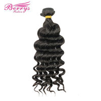 Berrys Fashion Peruvian Loose Wave Weave Human Hair Weft 100g Remy Hair Extensions 1Pcs Lot