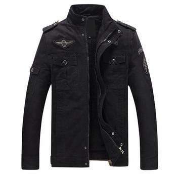 Pop Warm Autumn And Winter Men Jacket Collar Jacket Coat Casual Jacket Fashion