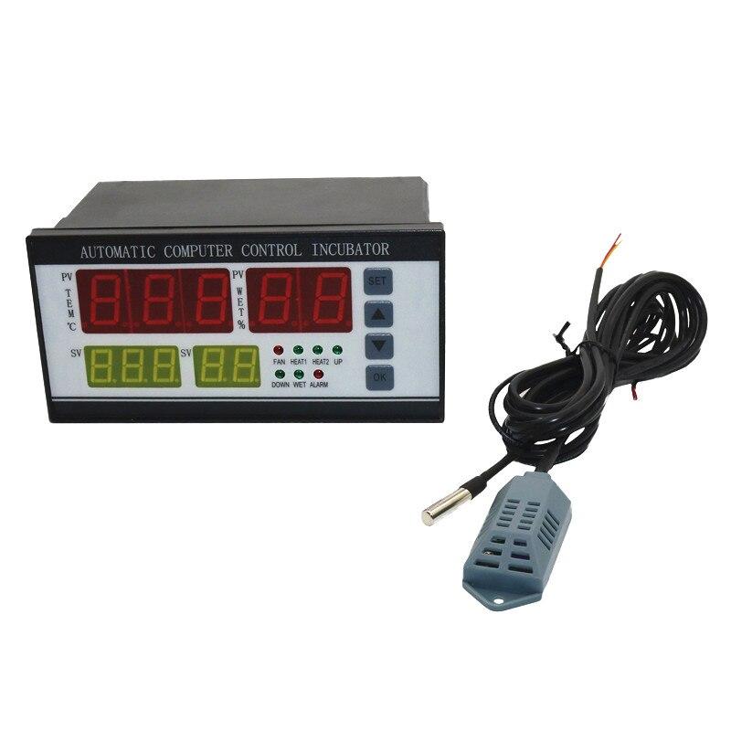 Controlador Incubadora XM-18 Versión mejorada Multifuncional Automática Incubadora incubadoras Industriales de la sonda de Temperatura