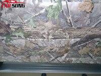 Хорошая печать настоящее дерево камуфляж винил автомобиля обёрточная Бумага настоящее дерево лист печатных Camo плёнки для грузовик автомоб