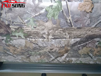 Good Printing Real Tree Camouflage Vinyl Car Wrap Real Tree Leaf Printed Camo Film For Truck Car Decal 3m/5m/15m/20m/30m/Roll