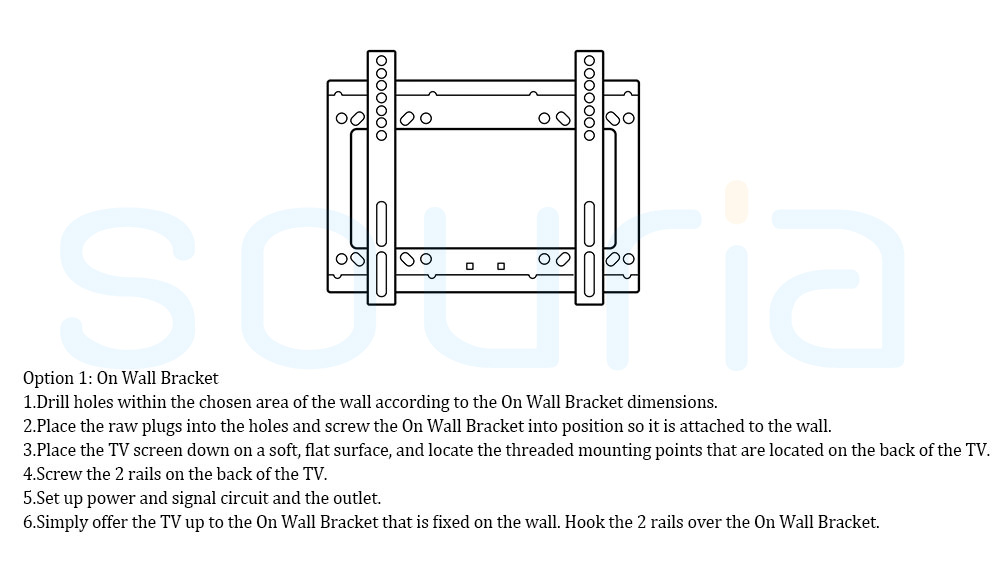 Wall Bracket on Wall Souria