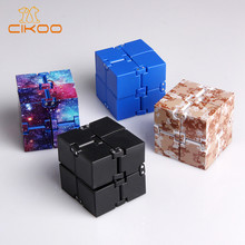 Infinity Cube Mini Toy Finger EDC Anxiety Stress Relief Cube Blocks Children Kids Funny Toys Best Christmas Gift 5mm 216pcs buliding educational cube blocks anxiety stress toys gift new year magnet with metal box disc magnet