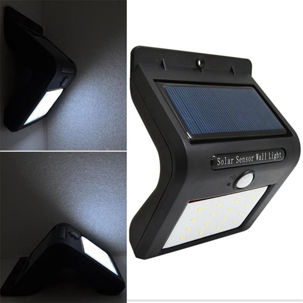 16 led Solar light lamp PIR Motion Sensor Wall Light Garden Path Lamp Light Solar Powered Auto Motion Sensor Light Energy Saving