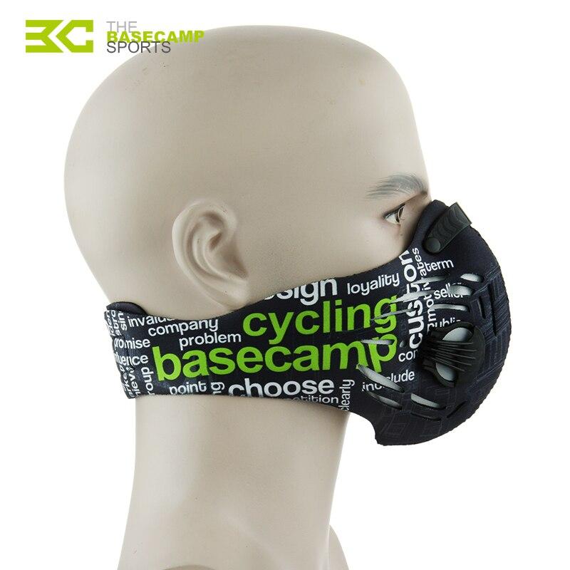 Basecamp Radfahren Maske Männer Frauen Sport Gesicht Masken Smog Anti Verschmutzung Anti Staub mascara ciclismo bisiklet maske MTB Fahrrad Maske
