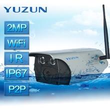 1080PWifi Security Camera super Waterproof IP67 bullet surveillance camera with voice intercom Anti immersion cctv camera IR-cut