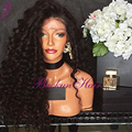 Fast Shipping Syntetic lace front wig Deep Curly Wigs Black Wig Synthetic Lace Front Wigs With Baby Hair For Black Women