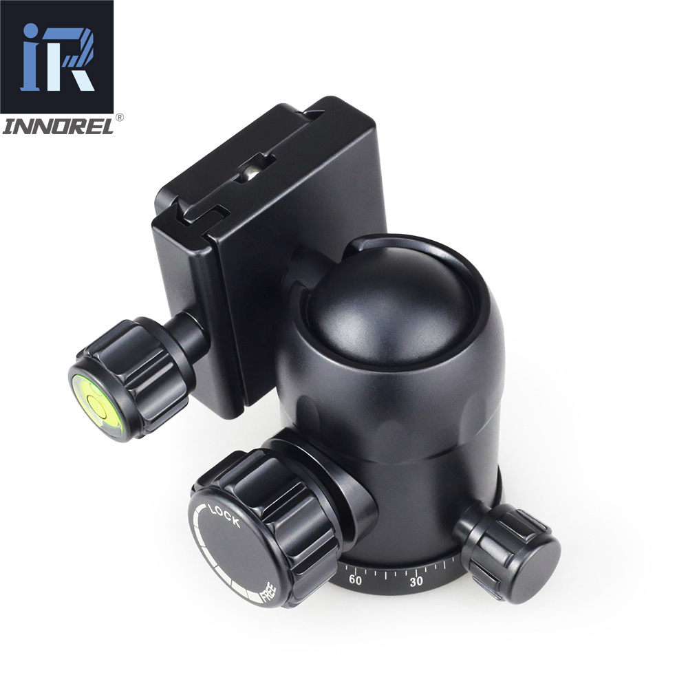 B36 B 36 Camera Tripod Ball Head with Quick Release Plate 1 4 quot Screw Max Load 12kg for Tripod Monopod Slider Suitable for Canon in Tripod Heads from Consumer Electronics