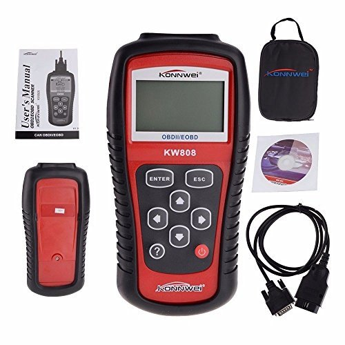 New KW808 OBD2 OBDII EOBD Auto Scanner Live Code Reader Diagnostic Motor Data Control fit for CAN & all current OBD2 protocols quicklynks t80 jobd obd2 eobd color display auto scanner t80 for japan cars wider vehicle coverage with can protocol support