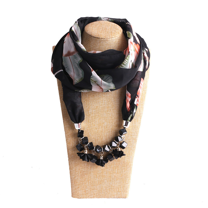 HTB12hD1LSzqK1RjSZPxq6A4tVXaY - RUNMEIFA Multi-style Jewelry Statement Necklace Pendant Scarf Women Bohemia Neckerchief Foulard Femme Accessories Hijab Stores
