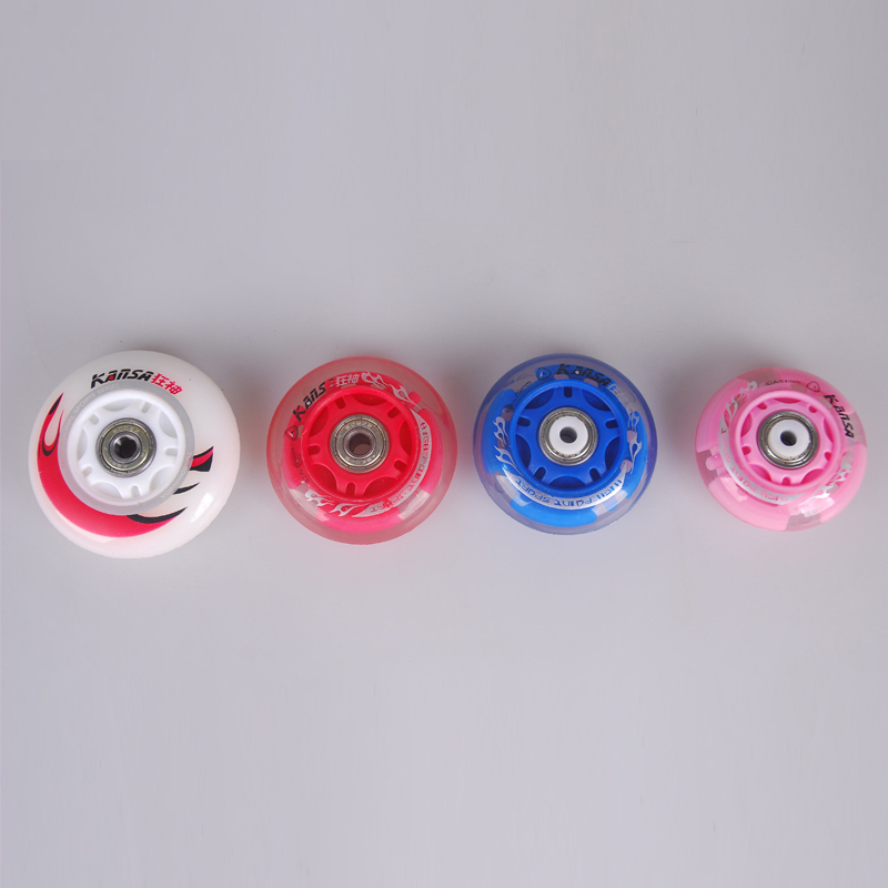 Free Shipping Roller Skates Wheels PU 64mm 70mm 72mm 80mm In Scooter Parts Accessories From Sports Entertainment On Aliexpress