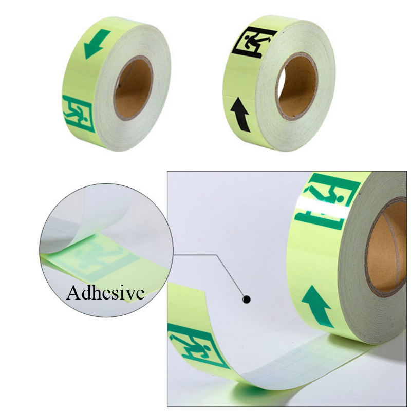 5CM X 30M Glow In The Dark Tape Lasting 4 Hours Luminous Film For Safety