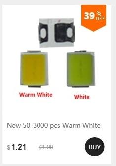 SMD Preto Branco versão WS2812 RGB LEVOU Chip