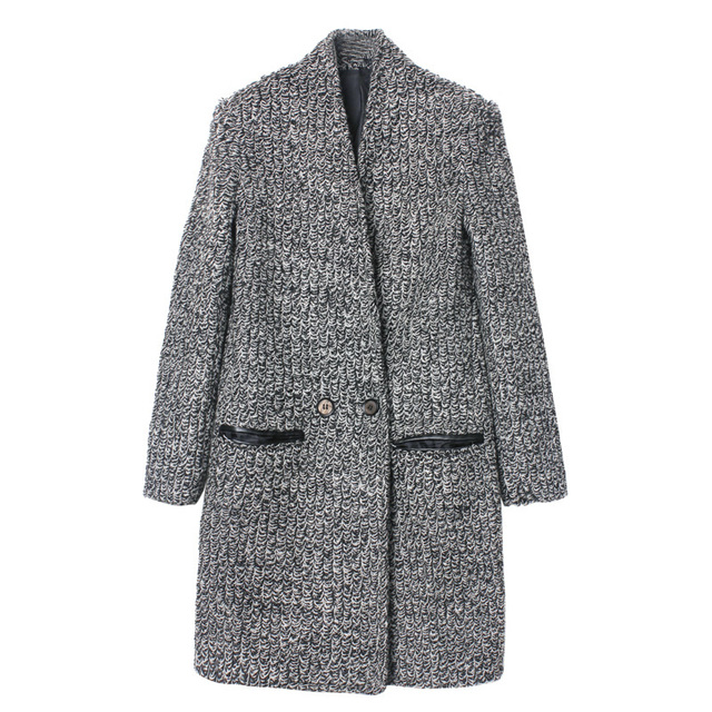 Free shipping! winter circle yarn elegant long design wool woolen outerwear ,Women keep warm long coat, coat