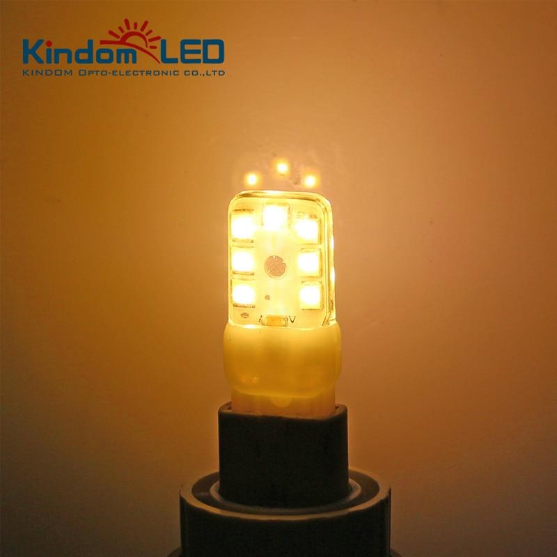 10Pcs Super Bright G9 LED Bulb/Light/Lamps 2.2W 3W AC 110 V 220 V 230 V SMD2835 G9 Bulb 360 Degree Lighting High Transmittance