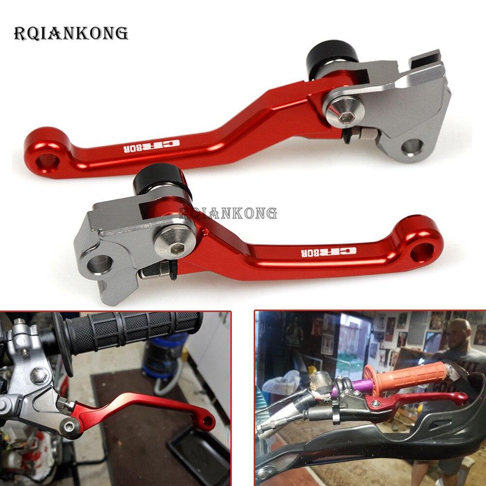 Moto frein à main pour HONDA CR80R CR85R CR125R CR250R CRF150R CRF450R 92-16 CR 80 85 125 250 CRF CNC frein leviers d'embrayage