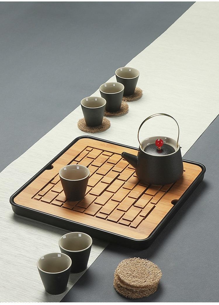 Bamboo Gong Fu Tea Trays 2