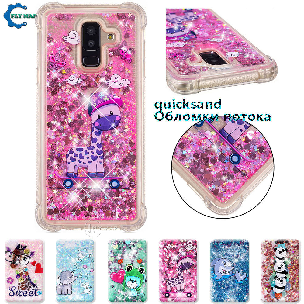 Kind-Hearted Case For Samsung Galaxy A7 A 7 2017 Sm A720 A720f A720f/ds Sm-a720f/ds Sm-a720f Glitter Stars Dynamic Liquid Quicksand Tpu Case Fitted Cases