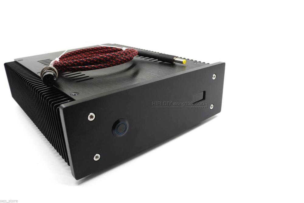 Noir 100VA 19 V 4.2A Faible Bruit R-core DC LPS Linéaire Alimentation + affichage