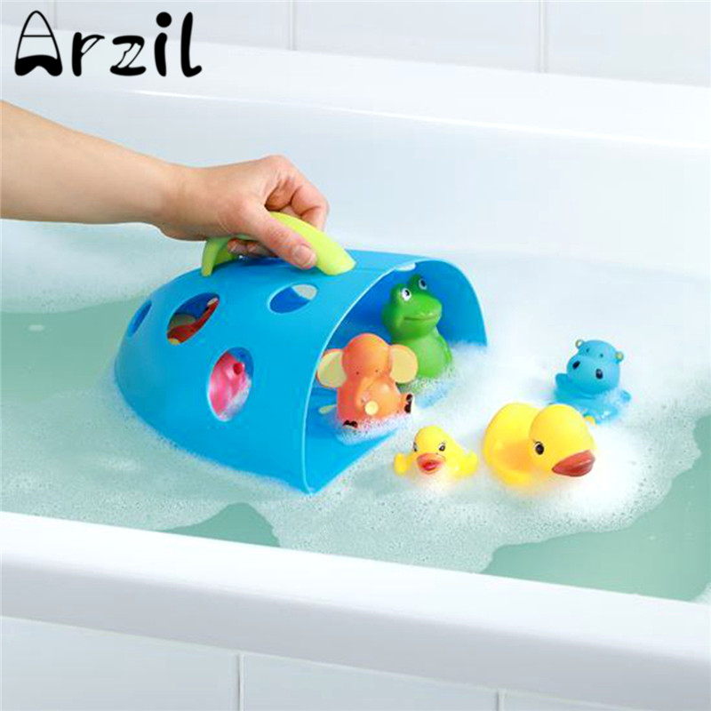 Cartoon Baby Bath Toy Storage Bags Kids Shower Sundries Toys Tidy ...