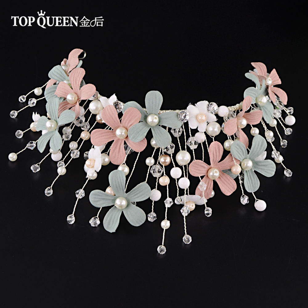 TOPQUEEN HP229 Wedding Accessories Crown with Original For Bride Headdress Bride hair tiara lovely style Wedding headdresses