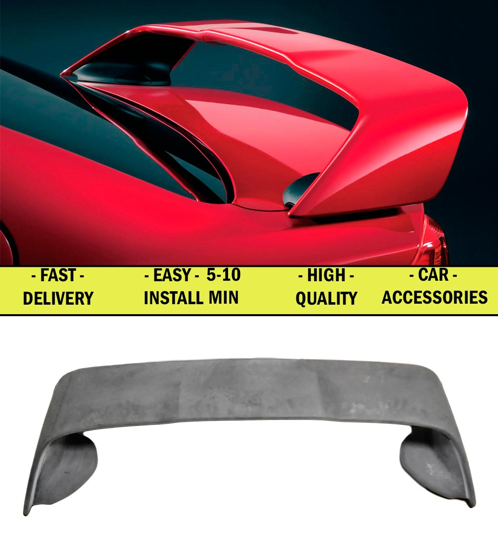 Spoiler for Mitsubishi Lancer X 2007-2017 ABS plastic decor design sports styles car accessories aerodynamic wing car styling