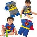 BeBe Meninos Superman Ternos Do Corpo Do Bebê Rompers Criança Trajes Bebês Macacões Roupas de Bebê