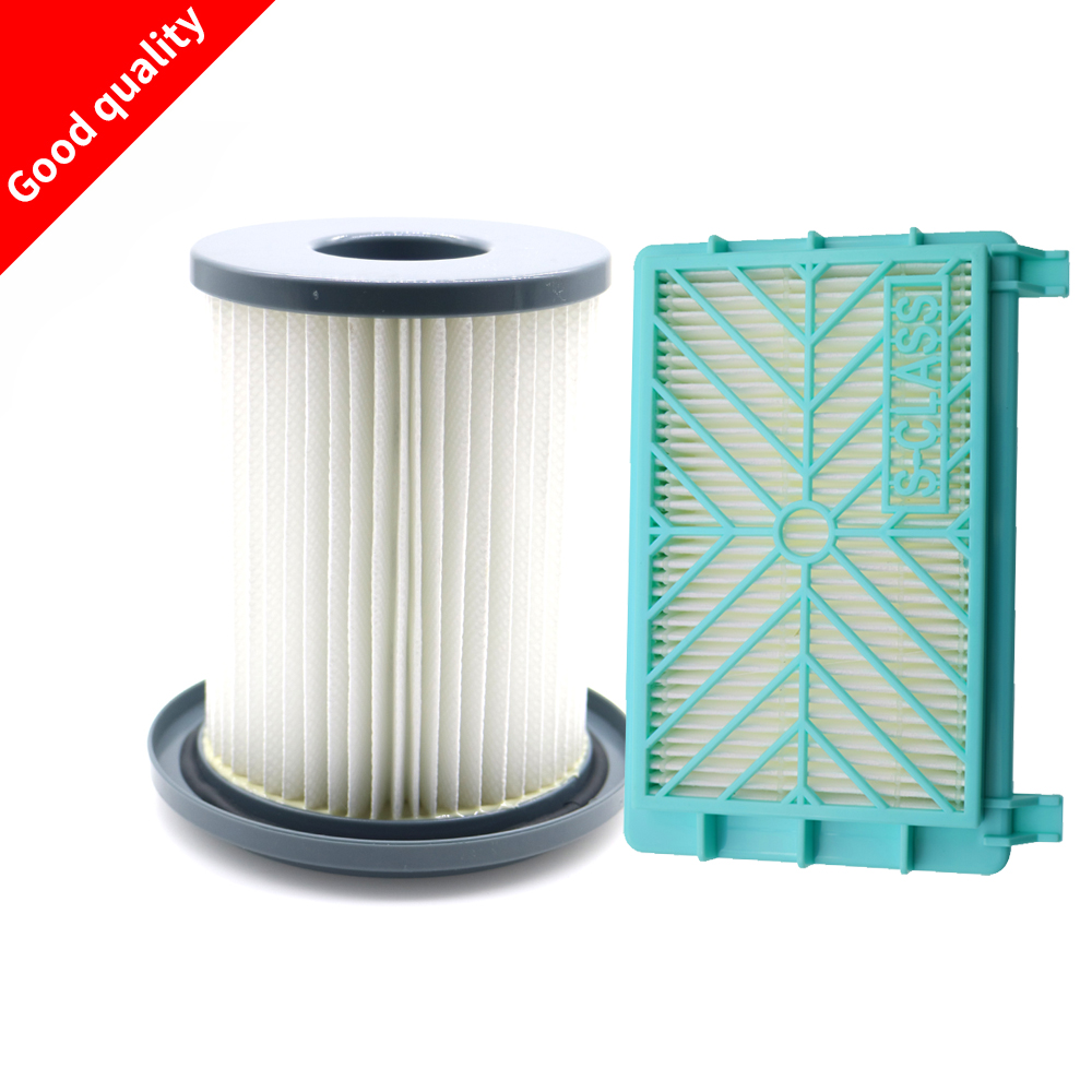 2pcs/set Vacuum Cleaner HEPA Filter element + Air filter for Philips FC8720 FC8724 FC8732 FC8734 FC8736 FC8738 FC8740 FC8748 replacement hydac hydraulic filter element 0180ma005bn
