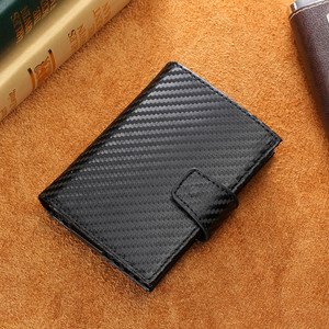 Image 5 - Bisi 五郎 2020 スマート財布男性 rfid カードホルダーアルミ合金金属クレジットカード財布盗難防止男性自動カードケース