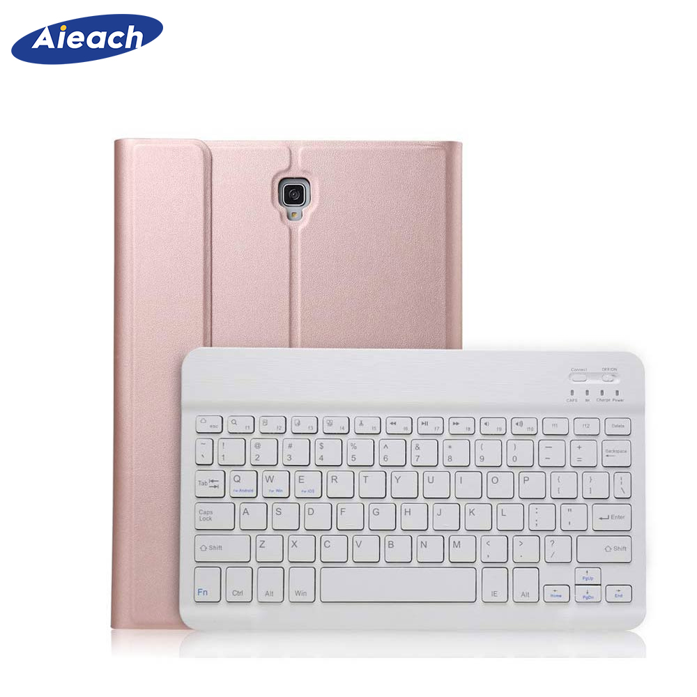 PU Leather Smart Wireless Bluetooth Keyboard Case For Samsung Galaxy Tab A 10.5 inch 2018 SM-T590 T595 With Pencil Holder CoverPU Leather Smart Wireless Bluetooth Keyboard Case For Samsung Galaxy Tab A 10.5 inch 2018 SM-T590 T595 With Pencil Holder Cover
